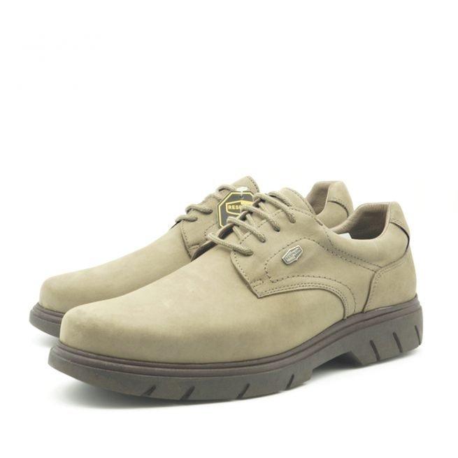 Derby gris, Zapatos BAY