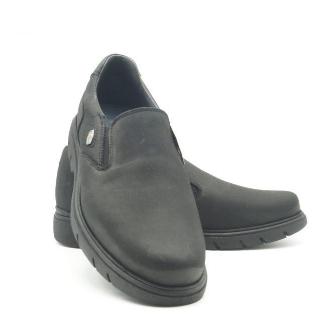 BAY SHOES FOR MEN. Zapatos BAY mocasín negro 2.