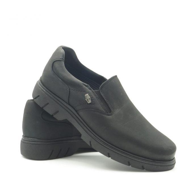 BAY SHOES FOR MEN. Zapatos BAY mocasín negro.