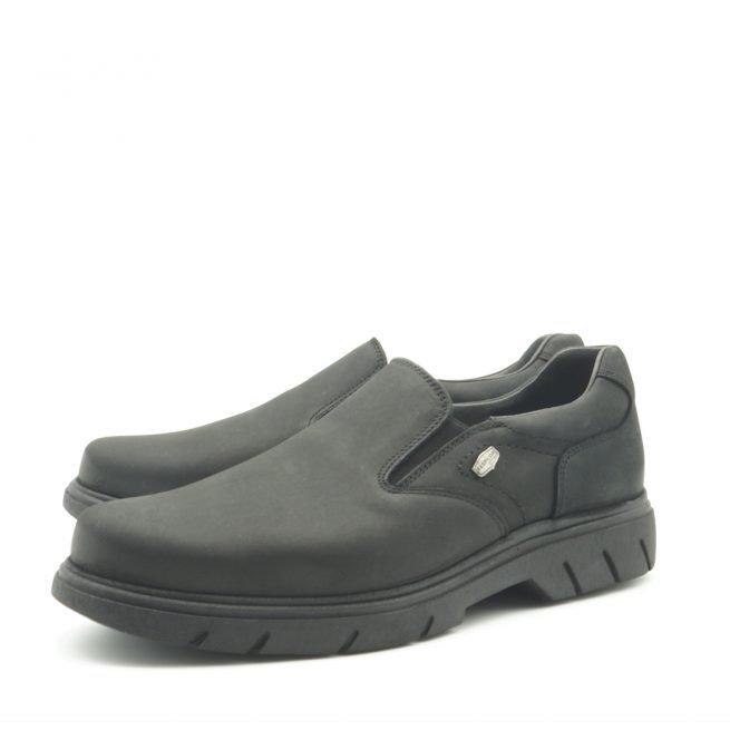 BAY SHOES FOR MEN. Zapatos BAY mocasín negro 6.