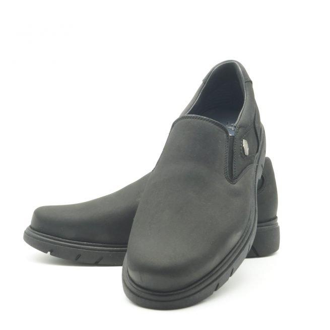BAY SHOES FOR MEN. Zapatos BAY mocasín negro 7.