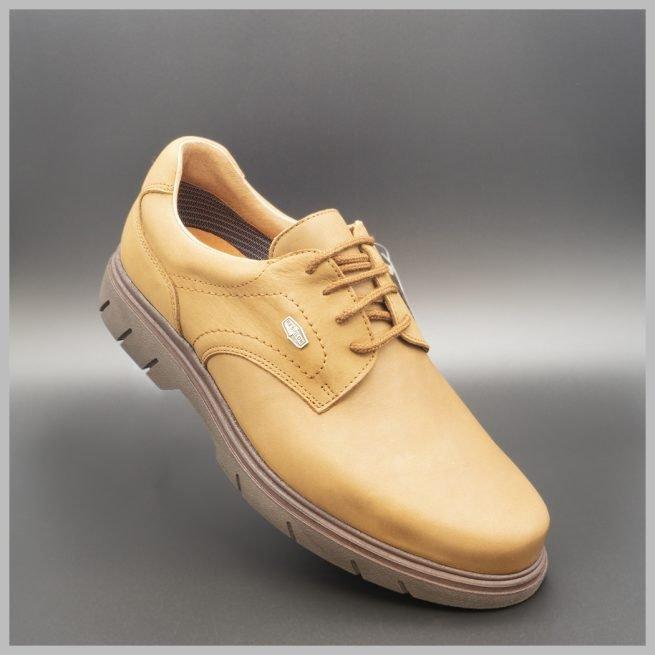 Zapatos Derby impermeables e hidrofugados. Modelo c510 color Marrón. 2020 Zapatos BAY Mallorca.