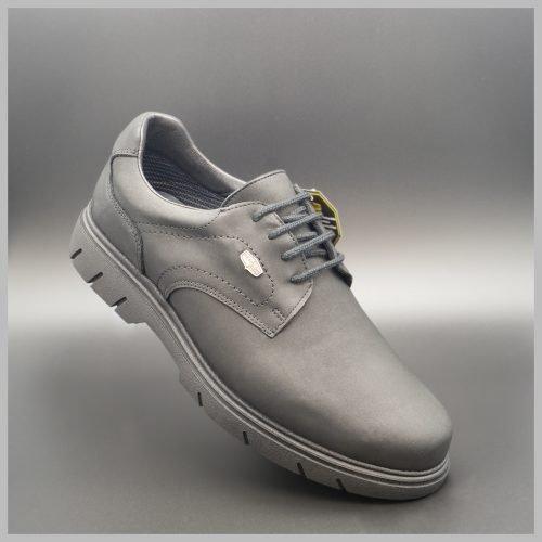 Zapatos Derby impermeables e hidrofugados. Modelo c510 negro. 2020 Zapatos BAY Mallorca.