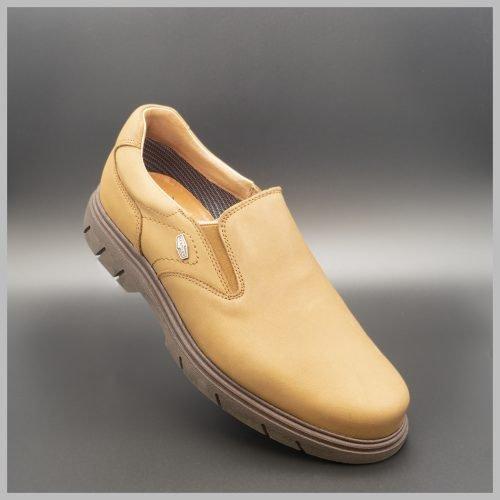 Mocasín impermeables e hidrofugados. Modelo c511 color Marrón. 2020 Zapatos BAY Mallorca.